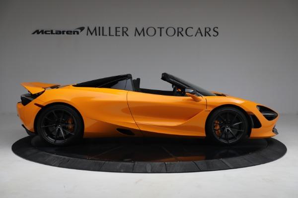 New 2021 McLaren 720S Spider for sale $378,110 at Bugatti of Greenwich in Greenwich CT 06830 9