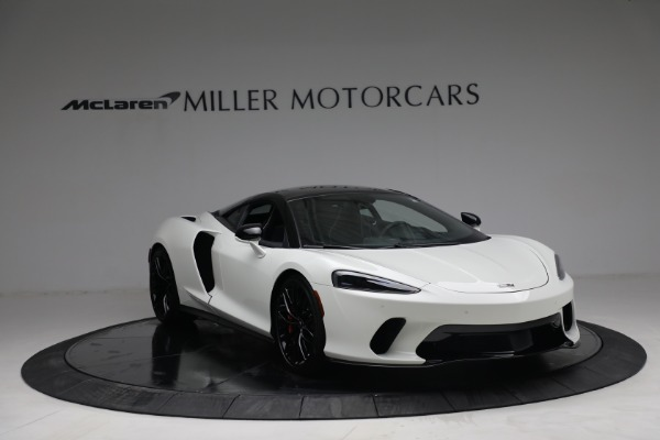 New 2021 McLaren GT Luxe for sale $217,205 at Bugatti of Greenwich in Greenwich CT 06830 11
