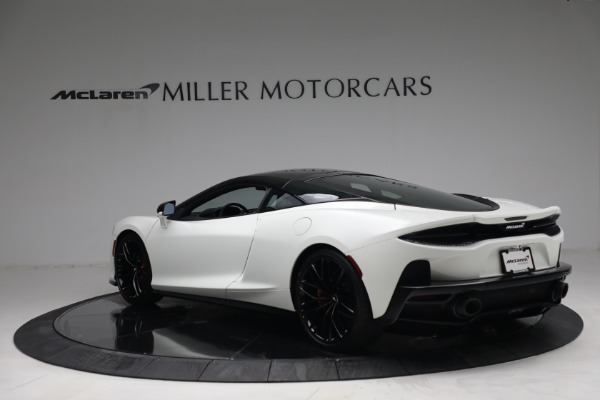 New 2021 McLaren GT Luxe for sale $217,205 at Bugatti of Greenwich in Greenwich CT 06830 5