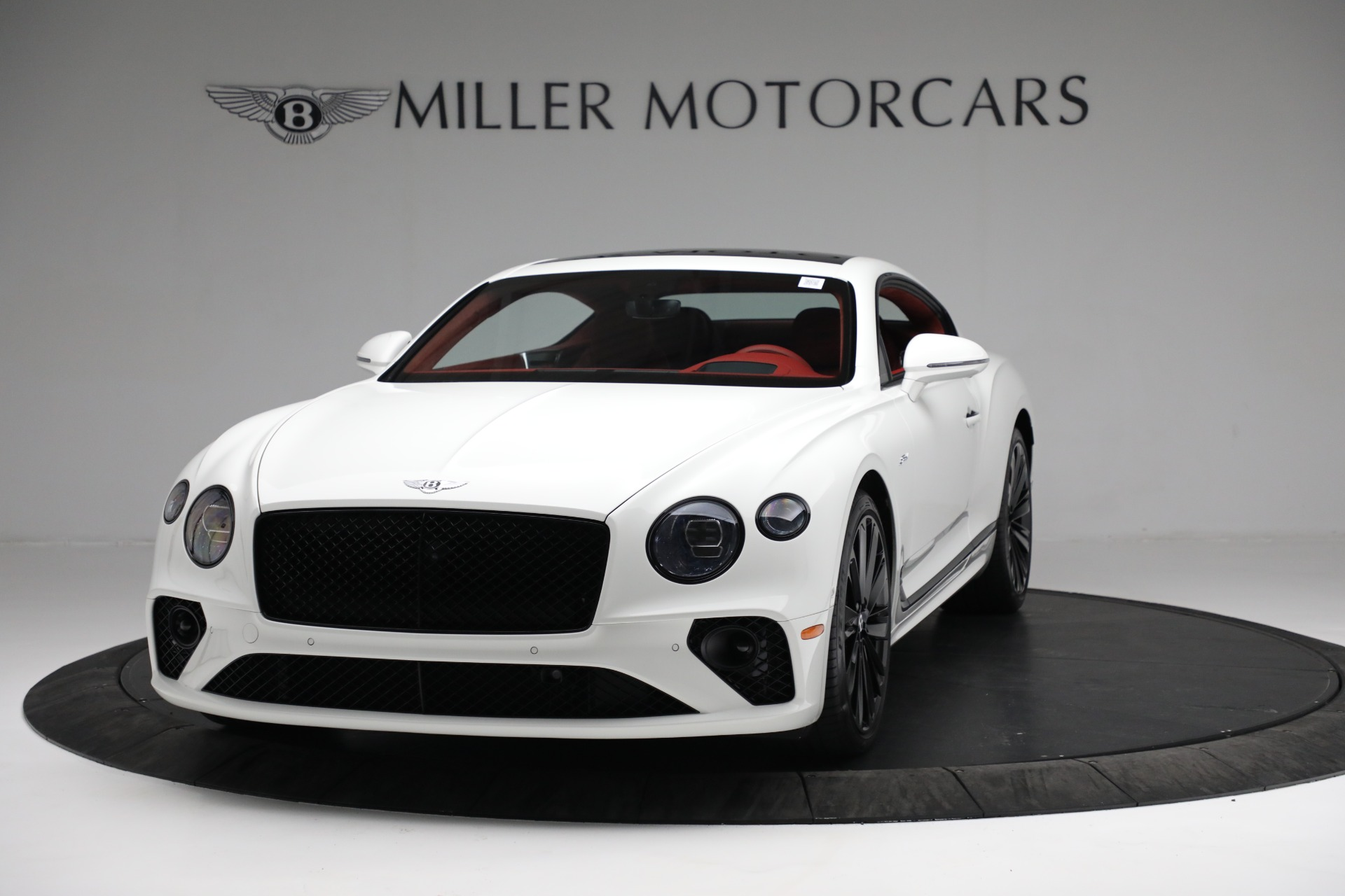 New 2022 Bentley Continental GT Speed for sale Sold at Bugatti of Greenwich in Greenwich CT 06830 1
