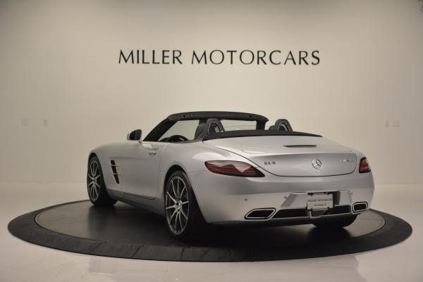 Used 2012 Mercedes Benz SLS AMG for sale Sold at Bugatti of Greenwich in Greenwich CT 06830 5