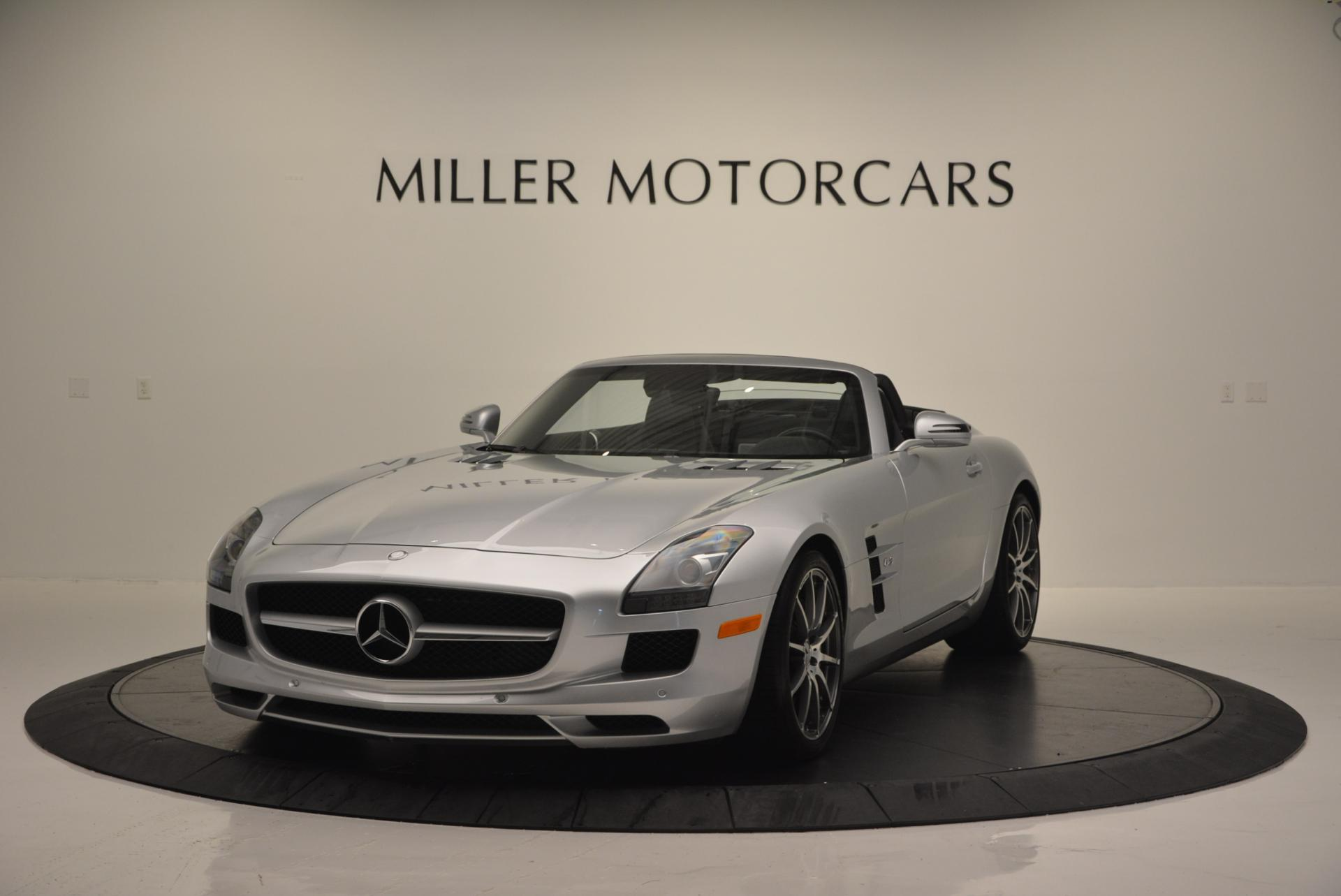 Used 2012 Mercedes Benz SLS AMG for sale Sold at Bugatti of Greenwich in Greenwich CT 06830 1