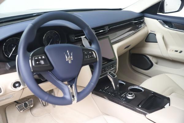 New 2021 Maserati Quattroporte S Q4 GranLusso for sale $126,149 at Bugatti of Greenwich in Greenwich CT 06830 13