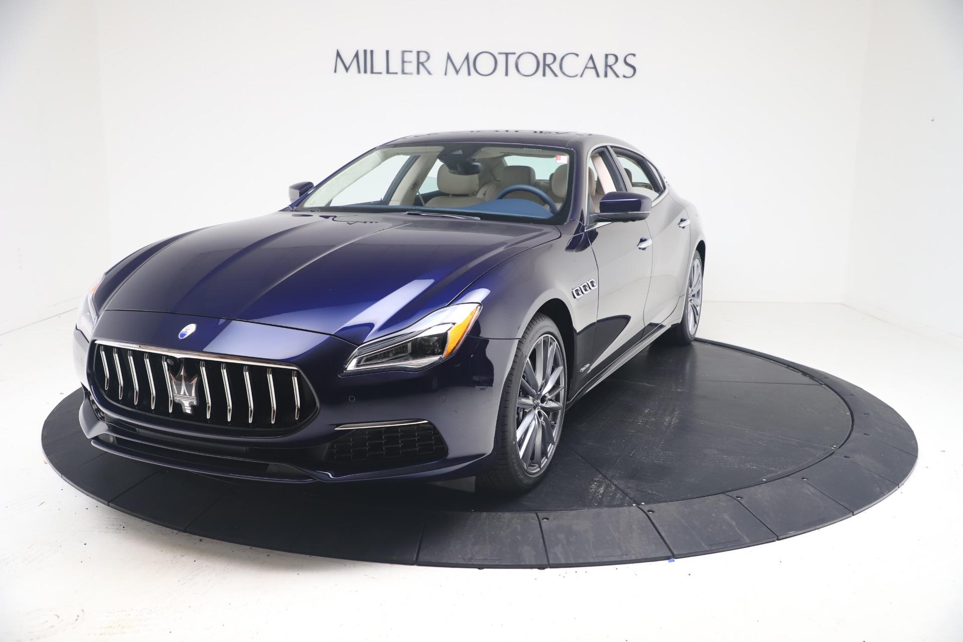 New 2021 Maserati Quattroporte S Q4 GranLusso for sale $126,149 at Bugatti of Greenwich in Greenwich CT 06830 1