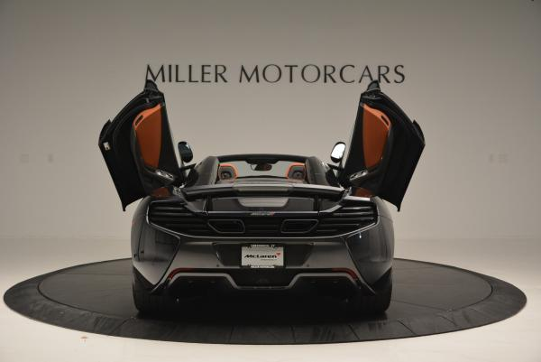 Used 2015 McLaren 650S Spider for sale Sold at Bugatti of Greenwich in Greenwich CT 06830 14