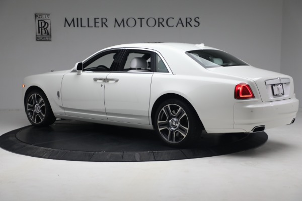 Used 2017 Rolls-Royce Ghost for sale $219,900 at Bugatti of Greenwich in Greenwich CT 06830 4