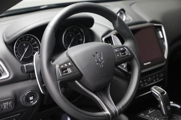 New 2021 Maserati Ghibli SQ4 for sale $92,894 at Bugatti of Greenwich in Greenwich CT 06830 17
