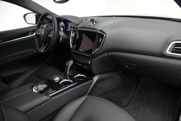 New 2021 Maserati Ghibli SQ4 for sale $92,894 at Bugatti of Greenwich in Greenwich CT 06830 25