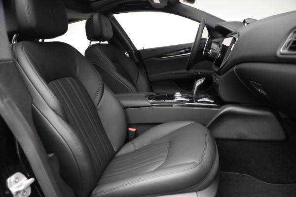New 2021 Maserati Ghibli SQ4 for sale $92,894 at Bugatti of Greenwich in Greenwich CT 06830 26