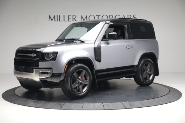 Used 2021 Land Rover Defender 90 X for sale Call for price at Bugatti of Greenwich in Greenwich CT 06830 2