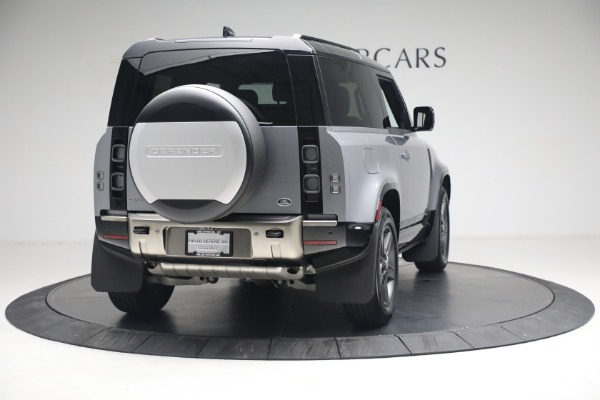 Used 2021 Land Rover Defender 90 X for sale Call for price at Bugatti of Greenwich in Greenwich CT 06830 5