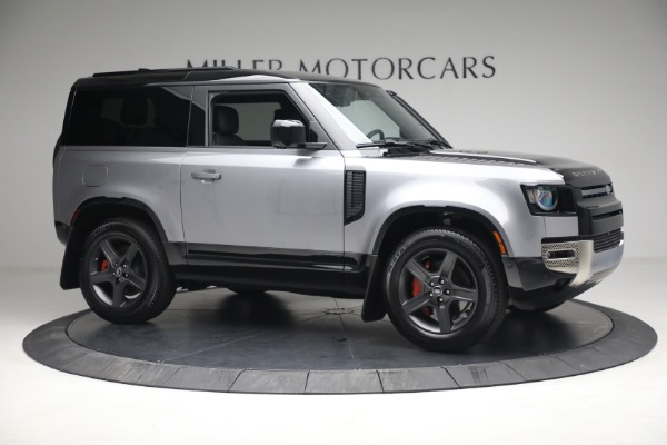 Used 2021 Land Rover Defender 90 X for sale Call for price at Bugatti of Greenwich in Greenwich CT 06830 7