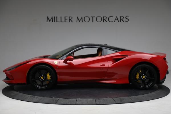 Used 2021 Ferrari F8 Tributo for sale Call for price at Bugatti of Greenwich in Greenwich CT 06830 3