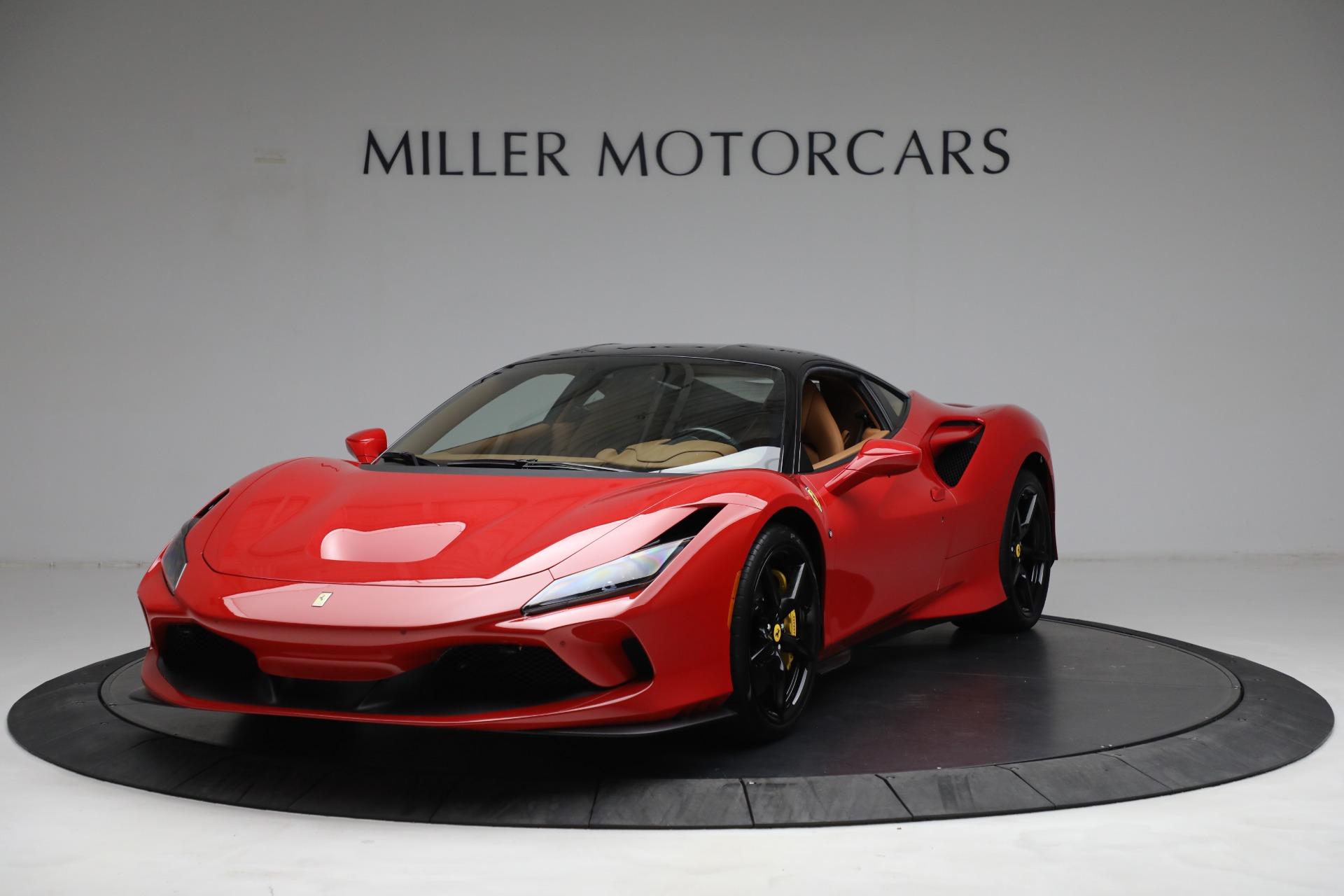 Used 2021 Ferrari F8 Tributo for sale Call for price at Bugatti of Greenwich in Greenwich CT 06830 1