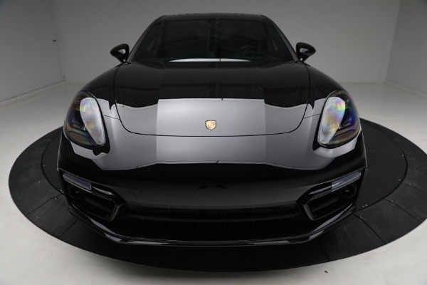 Used 2021 Porsche Panamera Turbo S for sale Call for price at Bugatti of Greenwich in Greenwich CT 06830 13