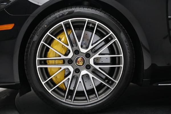Used 2021 Porsche Panamera Turbo S for sale Call for price at Bugatti of Greenwich in Greenwich CT 06830 15
