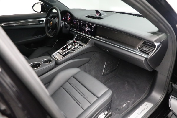 Used 2021 Porsche Panamera Turbo S for sale Call for price at Bugatti of Greenwich in Greenwich CT 06830 26