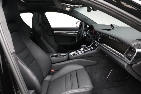 Used 2021 Porsche Panamera Turbo S for sale Call for price at Bugatti of Greenwich in Greenwich CT 06830 27