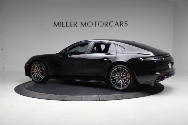 Used 2021 Porsche Panamera Turbo S for sale Call for price at Bugatti of Greenwich in Greenwich CT 06830 3