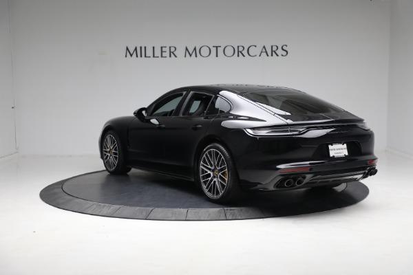 Used 2021 Porsche Panamera Turbo S for sale Call for price at Bugatti of Greenwich in Greenwich CT 06830 4
