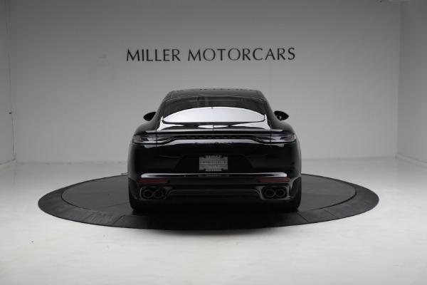 Used 2021 Porsche Panamera Turbo S for sale Call for price at Bugatti of Greenwich in Greenwich CT 06830 5