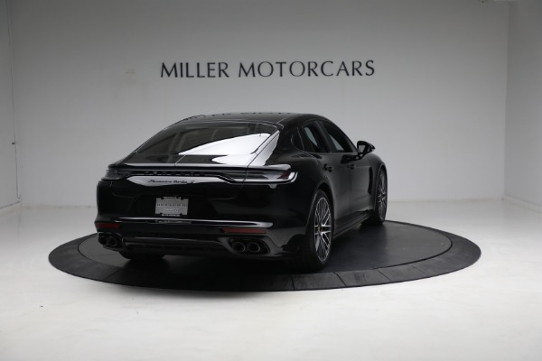 Used 2021 Porsche Panamera Turbo S for sale Call for price at Bugatti of Greenwich in Greenwich CT 06830 6