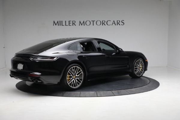 Used 2021 Porsche Panamera Turbo S for sale Call for price at Bugatti of Greenwich in Greenwich CT 06830 7