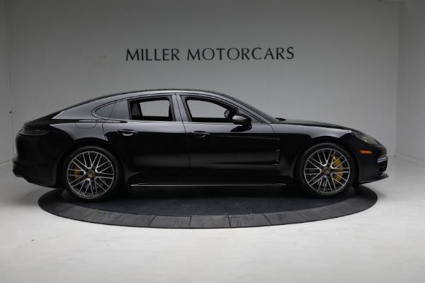 Used 2021 Porsche Panamera Turbo S for sale Call for price at Bugatti of Greenwich in Greenwich CT 06830 8