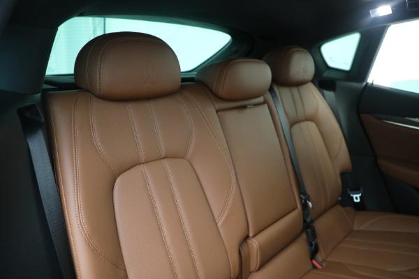 New 2021 Maserati Levante S GranSport for sale Sold at Bugatti of Greenwich in Greenwich CT 06830 24