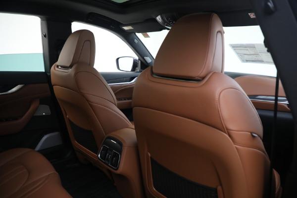 New 2021 Maserati Levante S GranSport for sale Sold at Bugatti of Greenwich in Greenwich CT 06830 26
