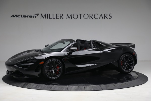 New 2021 McLaren 720S Spider for sale $374,120 at Bugatti of Greenwich in Greenwich CT 06830 2