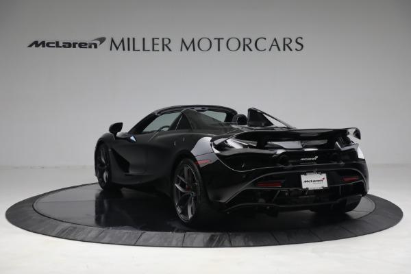 New 2021 McLaren 720S Spider for sale $374,120 at Bugatti of Greenwich in Greenwich CT 06830 5