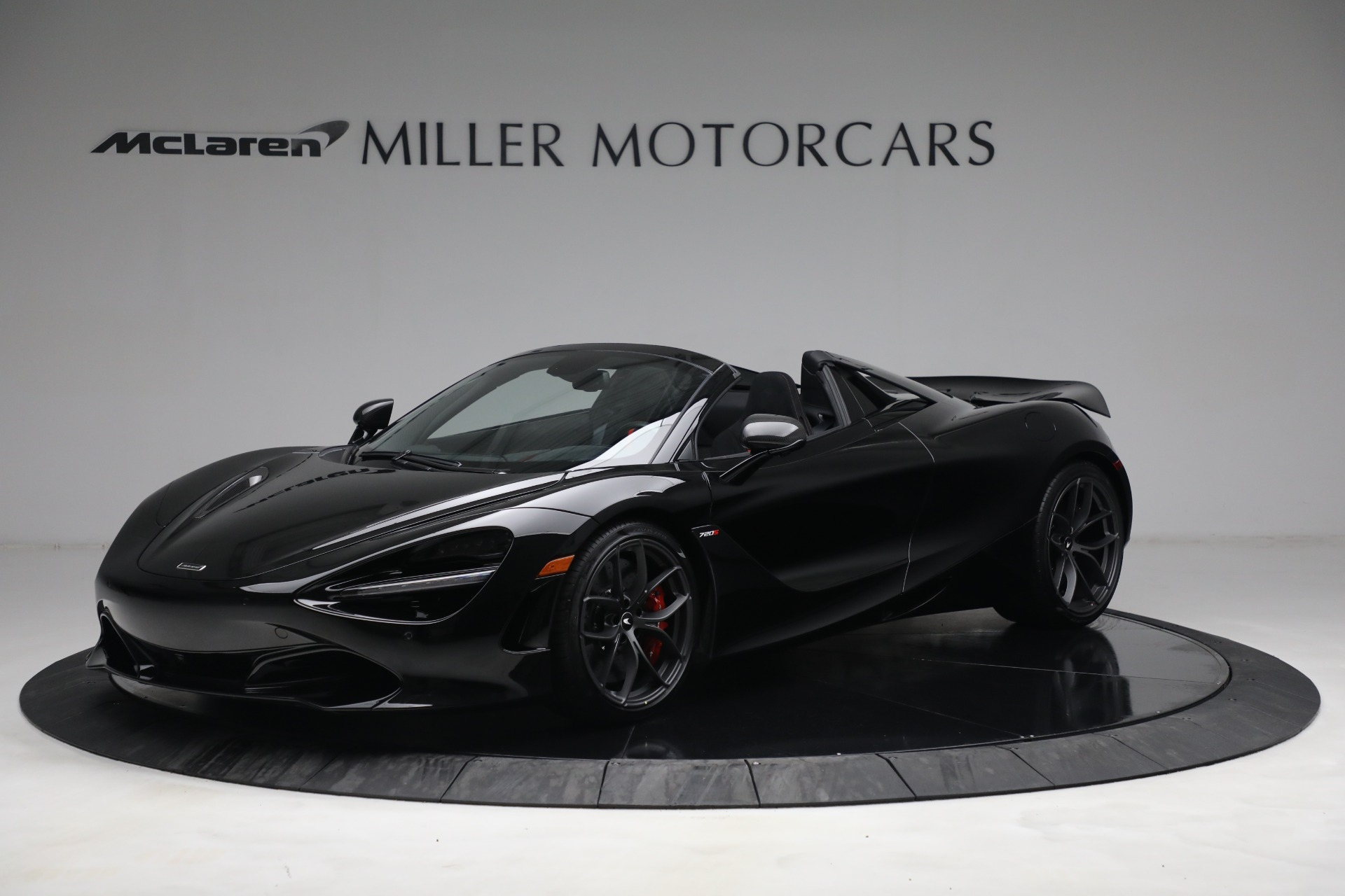 New 2021 McLaren 720S Spider for sale $374,120 at Bugatti of Greenwich in Greenwich CT 06830 1