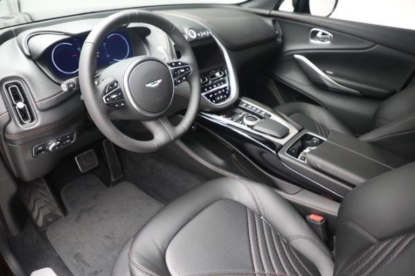 New 2021 Aston Martin DBX for sale $196,386 at Bugatti of Greenwich in Greenwich CT 06830 13