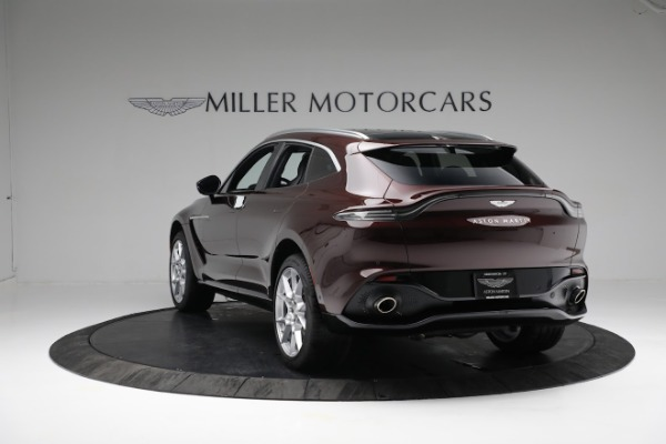 New 2021 Aston Martin DBX for sale $196,386 at Bugatti of Greenwich in Greenwich CT 06830 4