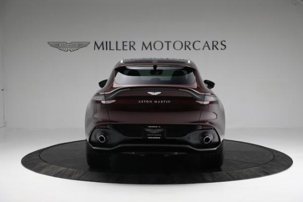 New 2021 Aston Martin DBX for sale $196,386 at Bugatti of Greenwich in Greenwich CT 06830 5