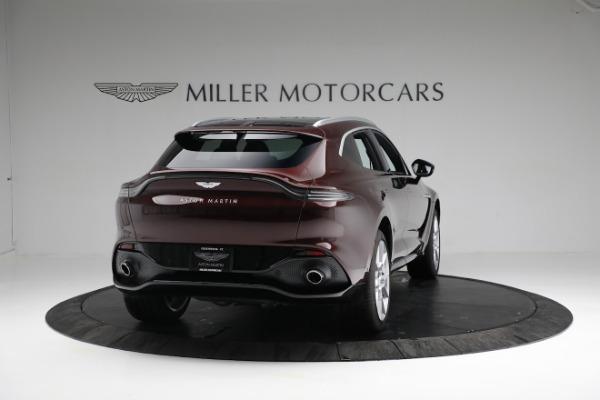 New 2021 Aston Martin DBX for sale $196,386 at Bugatti of Greenwich in Greenwich CT 06830 6