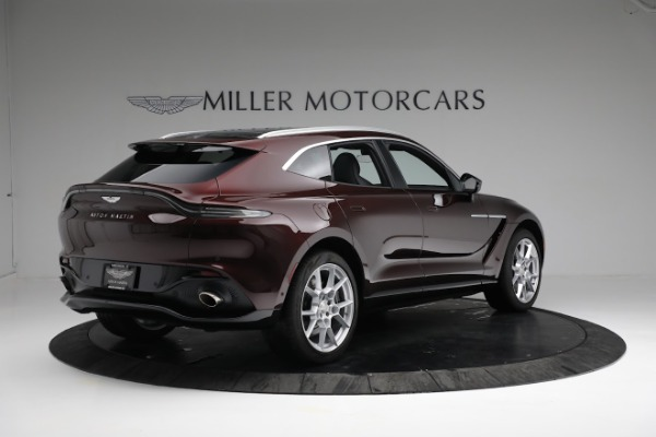 New 2021 Aston Martin DBX for sale $196,386 at Bugatti of Greenwich in Greenwich CT 06830 7