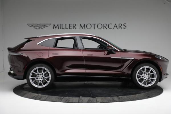 New 2021 Aston Martin DBX for sale $196,386 at Bugatti of Greenwich in Greenwich CT 06830 8