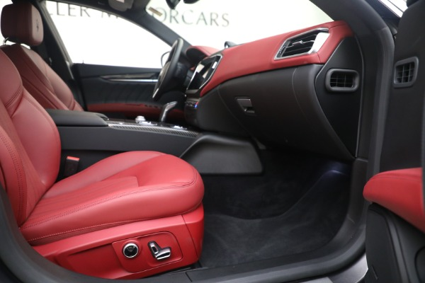 New 2021 Maserati Ghibli SQ4 GranLusso for sale Sold at Bugatti of Greenwich in Greenwich CT 06830 22