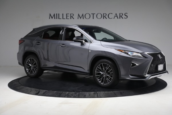 Used 2018 Lexus RX 350 F SPORT for sale Sold at Bugatti of Greenwich in Greenwich CT 06830 10