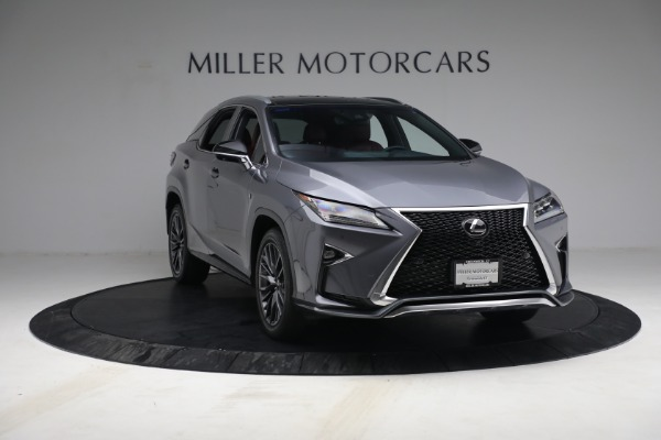 Used 2018 Lexus RX 350 F SPORT for sale Sold at Bugatti of Greenwich in Greenwich CT 06830 11