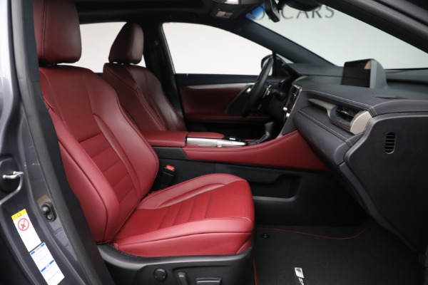 Used 2018 Lexus RX 350 F SPORT for sale Sold at Bugatti of Greenwich in Greenwich CT 06830 19