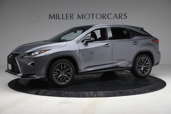 Used 2018 Lexus RX 350 F SPORT for sale Sold at Bugatti of Greenwich in Greenwich CT 06830 2