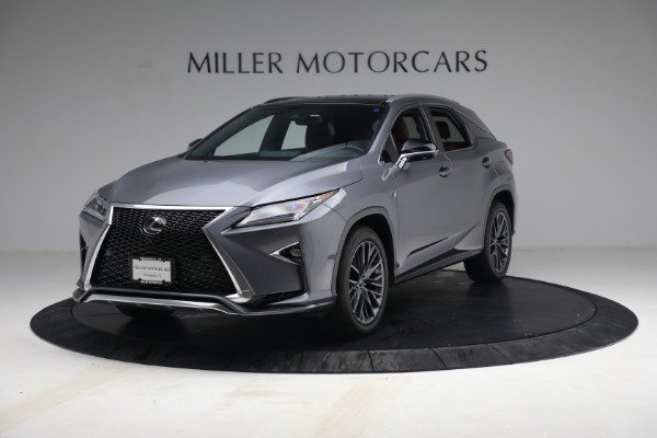 Used 2018 Lexus RX 350 F SPORT for sale Sold at Bugatti of Greenwich in Greenwich CT 06830 1