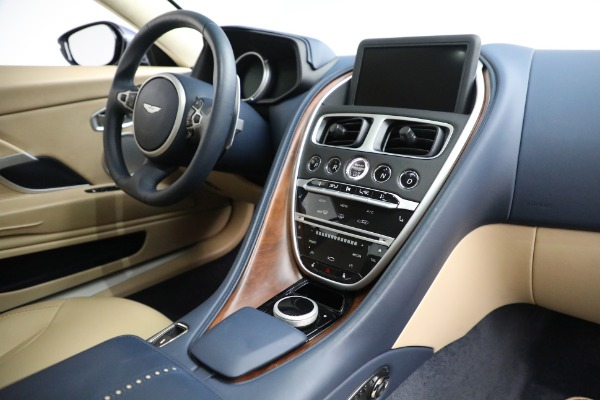 Used 2018 Aston Martin DB11 V12 for sale Sold at Bugatti of Greenwich in Greenwich CT 06830 17