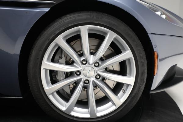 Used 2018 Aston Martin DB11 V12 for sale Sold at Bugatti of Greenwich in Greenwich CT 06830 19