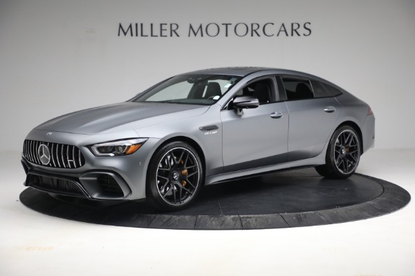Used 2019 Mercedes-Benz AMG GT 63 for sale Call for price at Bugatti of Greenwich in Greenwich CT 06830 2