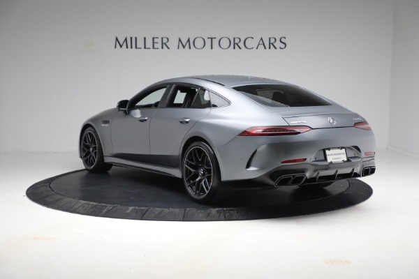 Used 2019 Mercedes-Benz AMG GT 63 for sale Call for price at Bugatti of Greenwich in Greenwich CT 06830 5