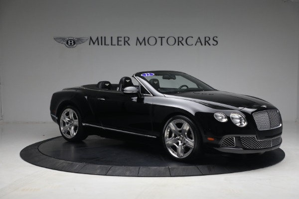 Used 2012 Bentley Continental GTC GT for sale $119,900 at Bugatti of Greenwich in Greenwich CT 06830 10